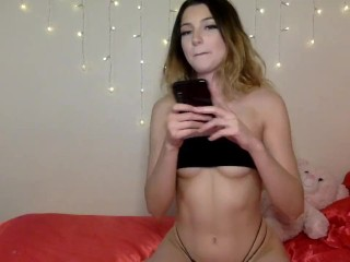 Teen Camgirl Gets Yes Undisguised Adhere To Beyond Chaturbate Livestream Recording